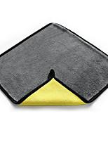 Недорогие -1 шт. Сплава полотенце из микрофибры удобный туман желтый / серый 30 * 30 см