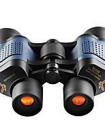 Недорогие -10x60 низкий уровень освещенности, высокая мощность, высокая мощность, красная пленка с координатным биноклем