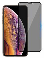 Недорогие -защитная пленка для экрана iphone 11/11 pro / 11 pro max закаленное стекло с защитой от шпионов 1 шт. защитная пленка для экрана высокого разрешения (hd) / твердость 9 ч