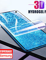 cheap -full cover curved edge protective film for samsung galaxy s8 s9 s10 plus s10 e note 8 9 hydrogel film soft tpu screen protector