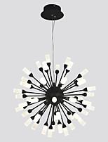 Недорогие -ZHISHU кластер / Оригинальные Люстры и лампы Рассеянное освещение Окрашенные отделки Металл Акрил LED, Управление WIFI 110-120Вольт / 220-240Вольт