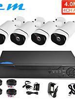 Недорогие -4ch AHD 4 миллиона HD монитор установлен мобильный телефон удаленной камеры DVR рекордер жесткого диска