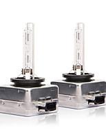 Недорогие -1 пара d1s автомобиль быстрый свет ксеноновая лампа 6000 К фары замена лампы для rv suv mpv автомобиль стандартное напряжение 12 В
