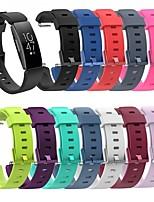 Недорогие -Ремешок для часов для Fitbit Inspire HR / Fitbit Inspire Fitbit Классическая застежка / Современная застежка силиконовый Повязка на запястье
