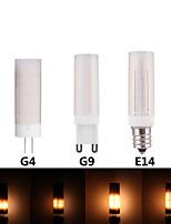 Недорогие -3шт 3 W LED лампы типа Корн 300 lm E14 G9 G4 T 36 Светодиодные бусины SMD 2835 3D Фейерверк 100-277 V
