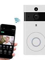 Недорогие -здание видеонаблюдения голосовой домофон беспроводной умный дом WiFi мобильное приложение программного обеспечения удаленного интеллектуального дверного звонка