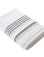 Недорогие -Высшее качество Банное полотенце, Полоски Хлопко-льняная смешанная ткань 1 pcs