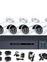 Недорогие -4-канальный HD коаксиальный HD-камера комплект DVR 200 миллионов 1080p магазин монитор камеры наблюдения