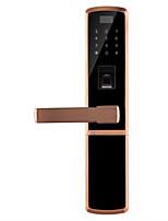 Недорогие -отпечатков пальцев замок домашней безопасности дверь деревянная дверь цинковый сплав пароль замок умный дом мобильный телефон удаленный электронный замок