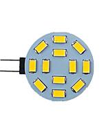 Недорогие -1шт 2.5 W Двухштырьковые LED лампы 340 lm G4 12 Светодиодные бусины SMD 5730 9-30 V