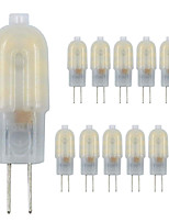 Недорогие -zdm g4 светодиодная лампа 12 упак. 2.5 Вт светодиодная молочно-белая двухконтактная база g4 10-20 Вт замена галогеновой лампы теплый белый / холодный белый ac220v / dc12v