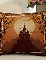 Недорогие -1 штук Полиэстер Наволочка, Животное Птица Мультяшная тематика Для отдыха Бросить подушку
