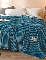 Недорогие -Одеяла, Однотонный / Простой Полиэстер удобный одеяла