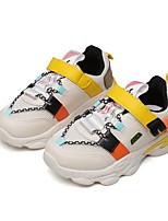 Недорогие -Мальчики Удобная обувь Синтетика Спортивная обувь Маленькие дети (4-7 лет) Беговая обувь Черный / Желтый Лето