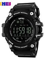 Недорогие -SKMEI Муж. электронные часы Цифровой силиконовый 30 m Защита от влаги Секундомер Новый дизайн Цифровой На открытом воздухе Мода - Черный Черный / Синий Черный / Золотистый