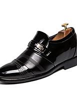 Недорогие -Муж. Комфортная обувь Полиуретан Весна лето На каждый день Мокасины и Свитер Черный