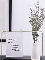 Недорогие -1шт Вазы и корзины Нерегулярная форма Керамика Металл Настольная