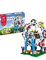 Недорогие -Конструкторы 1 pcs Карусель Колесо обозрения совместимый Legoing Очаровательный Все Игрушки Подарок