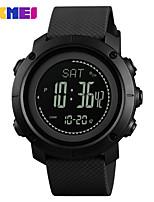 Недорогие -Skmei 1418 спортивные часы мужские водонепроницаемые светодиодные цифровые часы модные повседневные часы мужские наручные часы