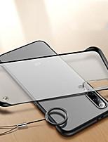 Недорогие -Кейс для Назначение Xiaomi Xiaomi Redmi Note 7 / Xiaomi Mi 8 / Xiaomi Mi 9 Защита от удара / Матовое / Прозрачный Кейс на заднюю панель Прозрачный ПК