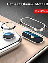 Недорогие -защитное стекло на для iphone 7 8 plus x xs max объектив камеры стекло металлическое кольцо защитная пленка для экрана закаленное стекло для iphone xs