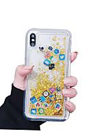 Недорогие -чехол для яблока iphonex / iphonexs / iphonexr / iphone 8 plus / iphone 8 прозрачный / пыль / водонепроницаемый задняя крышка creative icon сплошной цвет мягкое тпу для iphone 6 / iphone 6 plus /