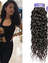 Недорогие -3 Связки Перуанские волосы Волнистые Необработанные натуральные волосы 100% Remy Hair Weave Bundles Человека ткет Волосы Удлинитель Пучок волос 8-28 дюймовый Нейтральный Ткет человеческих волос