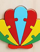 Недорогие -Деревянные пазлы Головоломка Куб Деревянные блоки профессиональный уровень Простой Новый дизайн деревянный 1 pcs Детские Все Игрушки Подарок