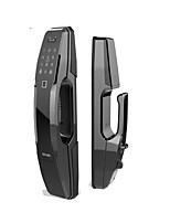 Недорогие -Factory OEM A8 Алюминиевый сплав Блокировка отпечатков пальцев / Пароль Умная домашняя безопасность Windows 7 система Отпирание отпечатка пальца / Разблокировка APP Дома / Дом / офис Деревянная дверь