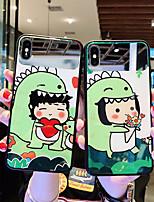 Недорогие -Кейс для Назначение SSamsung Galaxy S9 / S9 Plus / S8 Plus Зеркальная поверхность / Ультратонкий / С узором Кейс на заднюю панель Мультипликация ТПУ