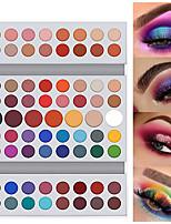 Недорогие -dnm 71 цвета матовые тени для век пластины без мух натуральный цвет жемчужные глаза и лицо