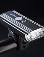 Недорогие -Светодиодная лампа Велосипедные фары Передняя фара для велосипеда Велоспорт Портативные Для профессионалов Прочный Литий-ионная 300 lm Работает от USB Батарея Белый / Поворот на 360°