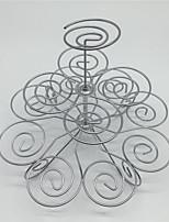 Недорогие -1шт Нержавеющая сталь + категория А (ABS) Милый Многофункциональный Творческая кухня Гаджет Cupcake Многофункциональный Для приготовления пищи Посуда Круглый Cakestand Инструменты для выпечки