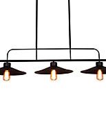 Недорогие -HEDUO 3-Light Люстры и лампы Потолочный светильник Окрашенные отделки Металл 110-120Вольт / 220-240Вольт