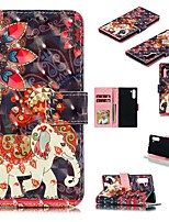 Недорогие -Кейс для Назначение SSamsung Galaxy Note 9 / Galaxy Note 10 / Galaxy Note 10 Plus Кошелек / Бумажник для карт / Защита от удара Чехол Животное Кожа PU
