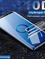 cheap -10d full cover soft hydrogel film for samsung galaxy s8 s9 plus s10 note 8 9 screen protector for samsung s7 edge not glass
