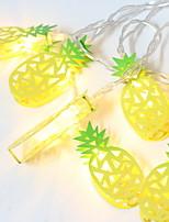 Недорогие -1,5 м Гирлянды 10 светодиоды Желтый Декоративная 5 V 1 комплект