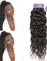 Недорогие -3 Связки Бразильские волосы Волнистые человеческие волосы Remy 100% Remy Hair Weave Bundles Человека ткет Волосы Удлинитель Пучок волос 8-28 дюймовый Нейтральный Ткет человеческих волос