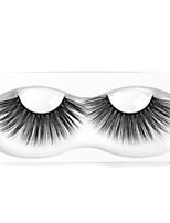 Недорогие -Neitsi одна пара наращивание ресниц накладные ресницы черные синтетические волокна ресницы наращивание глаз макияж dl027