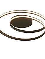 cheap -60cm Nordic Style LED Ceiling Light Rotating ring Shape Modern Living Room Dining Room Bedroom Ceiling Lamp
