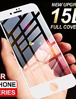 Недорогие -15d защитное стекло для iphone 6 6s 7 8 плюс стекло xr x полная крышка iphone xs max 5 5s se защитная пленка из закаленного стекла