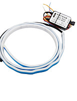 Недорогие -1 шт. 150 см полоса багажника светодиодные полосы света течет вспышка хвост задний свет поворотник белый / желтый / голубой / красный автомобиль стайлинг 12 В