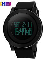 Недорогие -SKMEI Муж. электронные часы Цифровой силиконовый 30 m Защита от влаги Секундомер Новый дизайн Цифровой На открытом воздухе Мода - Черный Зеленый Черный / Синий