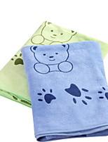 Недорогие -Высшее качество Банное полотенце, Животное Хлопко-льняная смешанная ткань Ванная комната 1 pcs