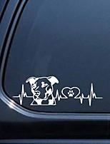 Недорогие -собака паттерн любовь стайлинг автомобиля стикер украшения