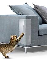 cheap -4pcs 15*48cm Couch Cat Scratch Guards Mat Scraper Cat Tree Scratching Claw Post Protector Sofa For Cats Scratcher Paw Pads Pet Furniture