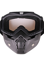 Недорогие -практический мотоцикл тактические очки маска ветер пыленепроницаемый спортивный инвентарь рама цвет серый