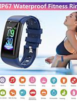 Недорогие -Умный браслет cm12 водонепроницаемый умный браслет с пульсометром артериальное давление спортивные часы фитнес для мужчин, женщин