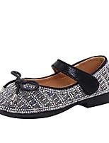 Недорогие -Девочки Детская праздничная обувь Полиуретан На плокой подошве Маленькие дети (4-7 лет) Черный / Розовый Лето