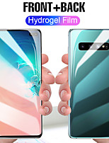 cheap -front and back 3d full screen protector tpu film for samsung s8 s9 s10 plus soft hydrogel film for samsung note 8 9 10 not glass